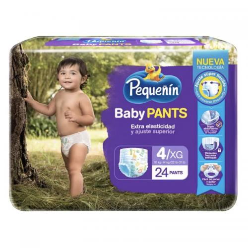 PAÑAL BABY PANTS ETAPA 4 x24