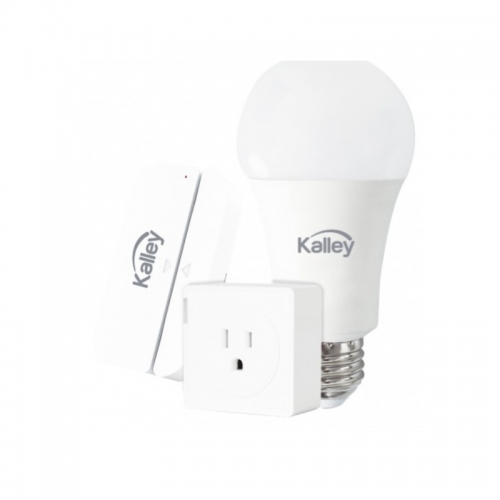 KIT INTELIGENTE: BOMBILLO+SENSOR+ENCHUFE KALLEY