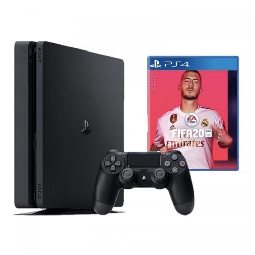 CONSOLA PS4 1TB FIFA 20 + CONTROL