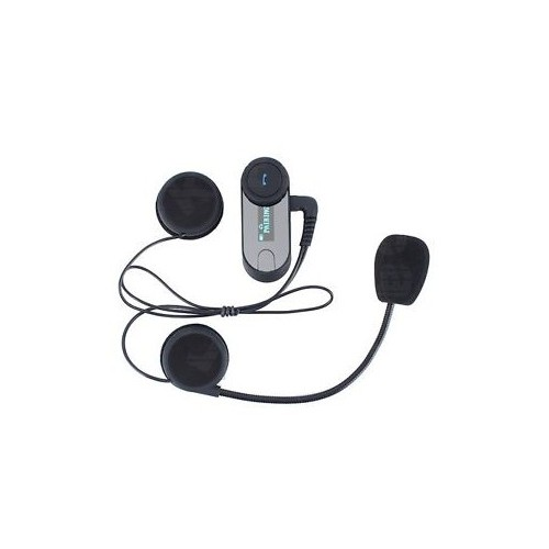 Intercomunicador Bluetooth Para Casco T-Com  Pantalla Led