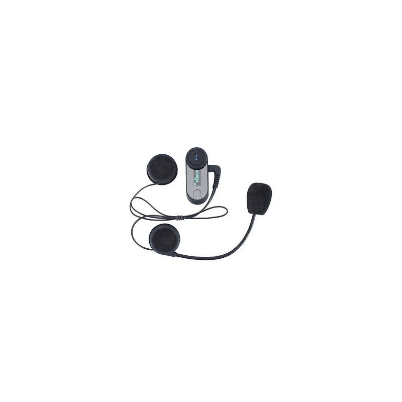 Intercomunicador Bluetooth Para Casco T-Com  Pantalla Led