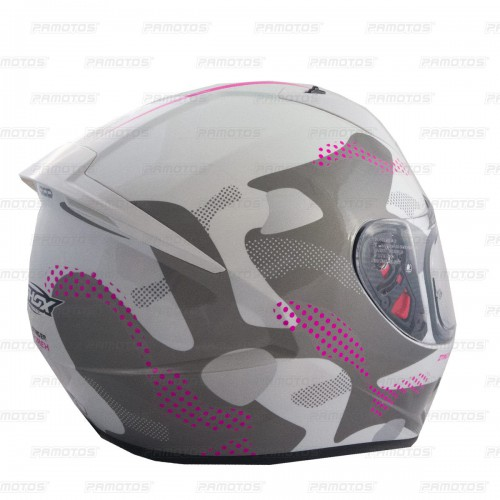 Casco Shox Stinger HX Blanco Brillante