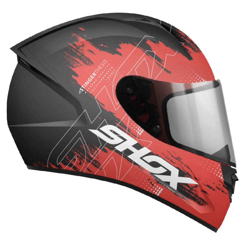 Casco Shox Stinger Thesis A2 Rojo