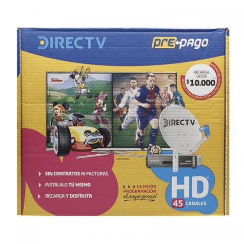 SET DIRECTV PREPAGO 1 Deco 46CM HD
