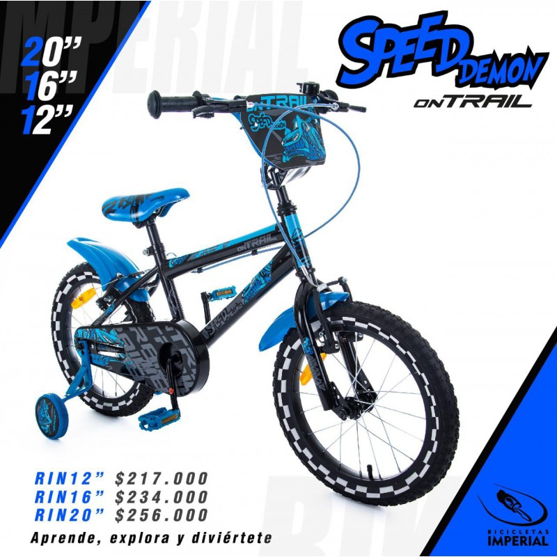 BICICLETA KIDS ON TRAIL RIN 16""
