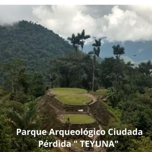 """PARQUE NACIONAL NATURAL SIERRA NEVADA DE SANTA MARTA ECOTURISMO, PATRIMONIO Y PARQUE ARQUEOLÓGICO CIUDAD PÉRDIDA. """" TEYUNA"""""""