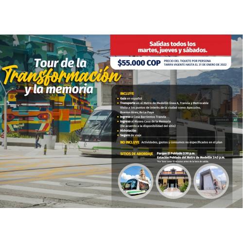 Tour Medellin se transforma
