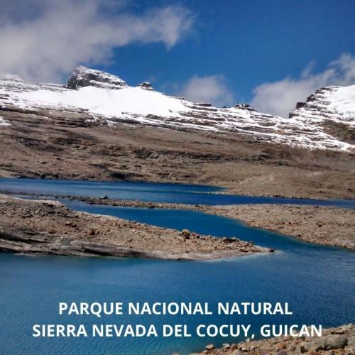 PARQUE NACIONAL NATURAL SIERRA NEVADA DEL COCUY , GUICAN . RUTA LAGUNILLAS PULPITO, PAN DE AZÚCAR O LAGUNA GRANDE DE LA SIERRA