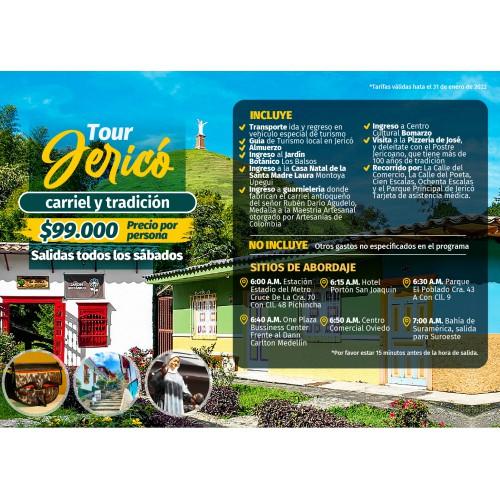 Tour Jerico - Carriel y tradición