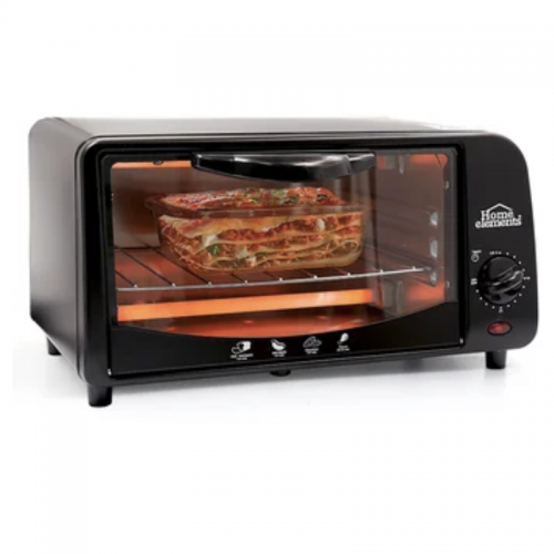 HORNO TOSTADOR HOME ELEMENTS 9L