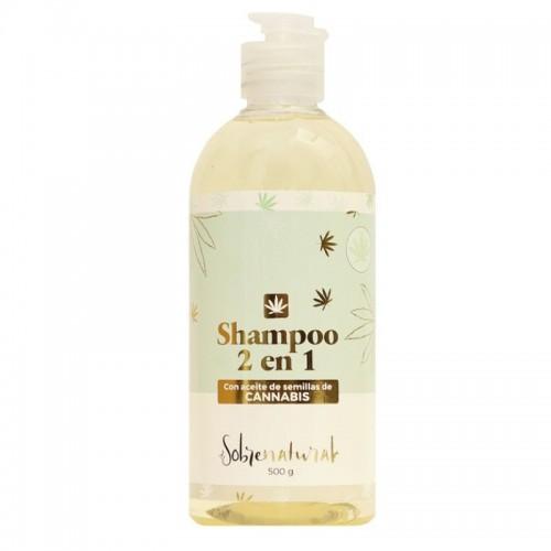 Shampoo con Aceite de Semilla de Cannabis