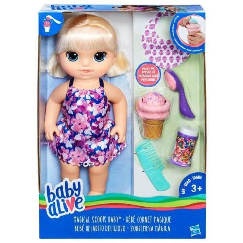 Baby Alive bebé heladito delicioso