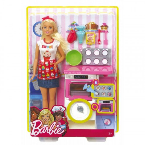 Barbie Chef de Pastelitos