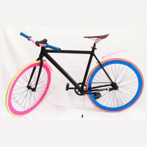 Bicicleta Fixxie Contra pedal en aluminio