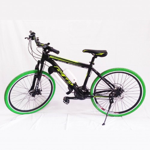Bicicleta motor 250 W Verde