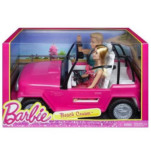 Auto de Barbie Para La Playa